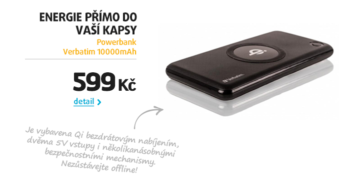 Powerbank Verbatim 10000mAh