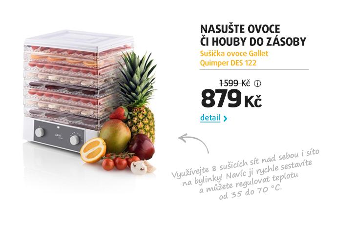 Sušička ovoce Gallet Quimper DES 122