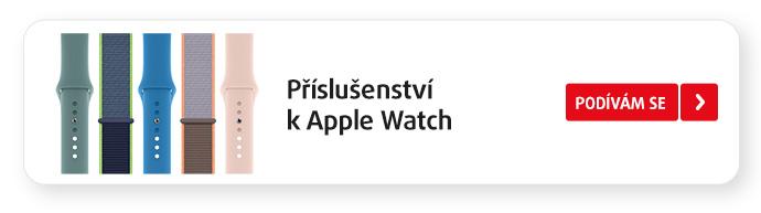Příslušenství k Apple Watch+ CTA: >>Podívám se<<