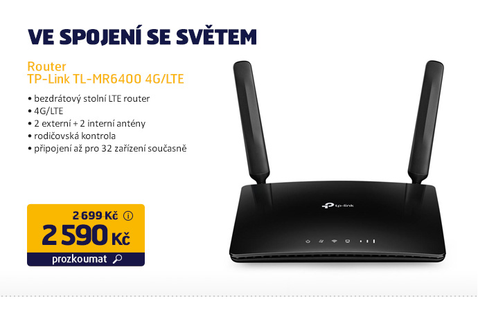 Router TP-Link TL-MR6400 4G/LTE