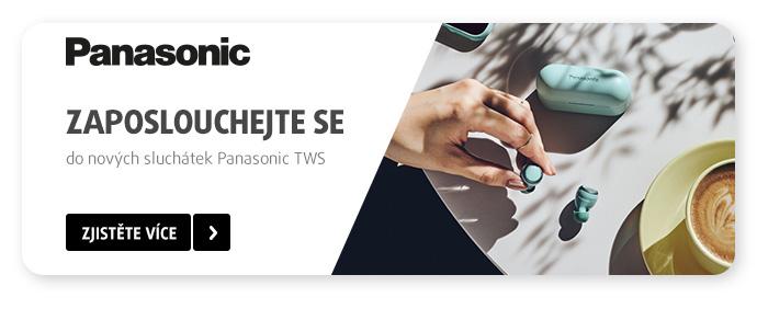 Panasonic - sluchátka