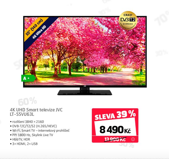 4K UHD Smart televize JVC LT-55VU63L