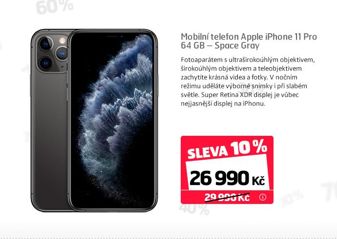 Mobilní telefon Apple iPhone 11 Pro 64 GB – Space Gray