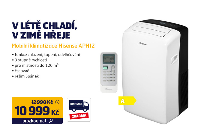 Mobilní klimatizace Hisense APH12
