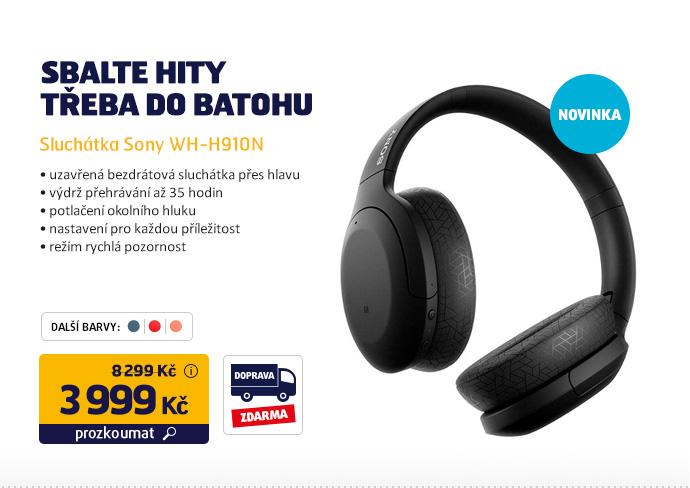 Sluchátka Sony WH-H910N
