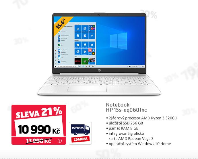 Notebook HP 15s-eq0601nc