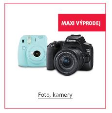 Foto, kamery