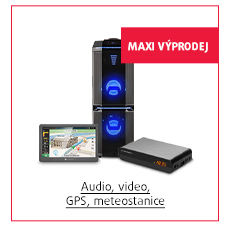 Audio, GPS, foto a video