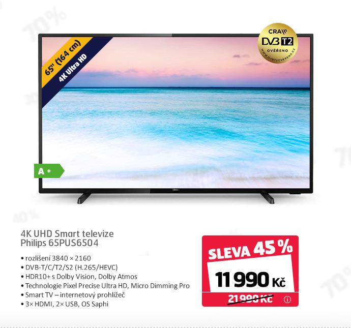 4K UHD Smart televize Philips 65PUS6504