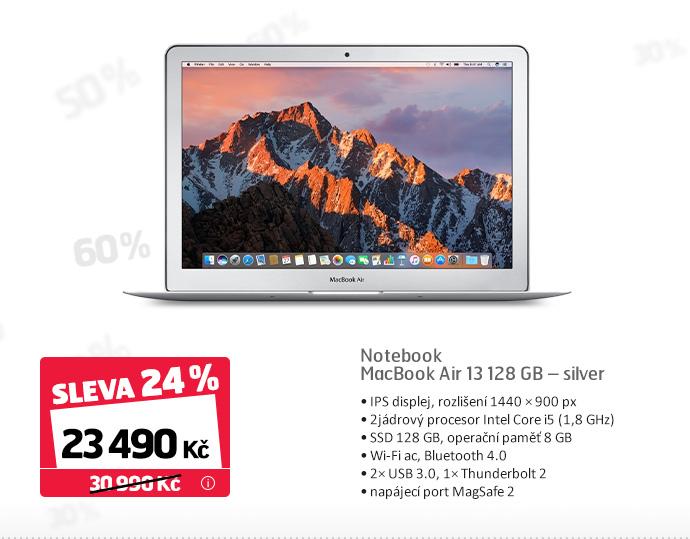 MacBook Air 13 128 GB – silver