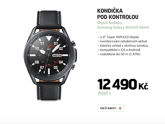 Chytré hodinky Samsung Galaxy Watch3 45mm