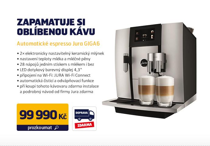 Automatické espresso Jura GIGA6