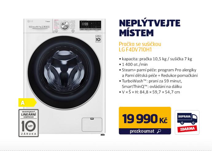 Pračka se sušičkou LG F4DV710H1