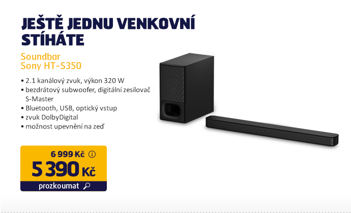 Soundbar Sony HT-S350