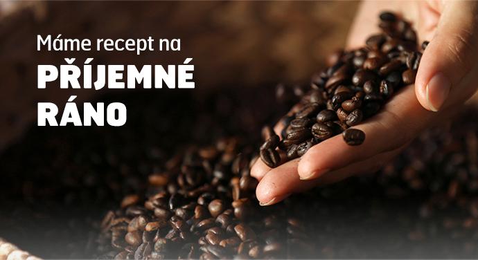 Kávový speciál PLNÝ ENERGIEMáme recept na PŘÍJEMNÉ RÁNO