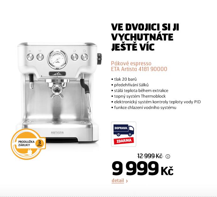 Pákové espresso ETA Artista 4181 90000