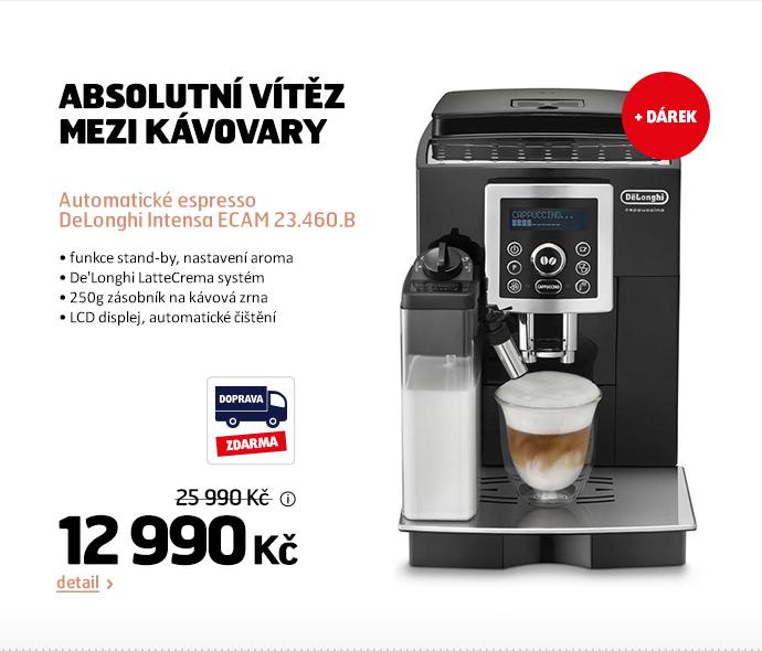 Automatické espresso DeLonghi Intensa ECAM 23.460.B