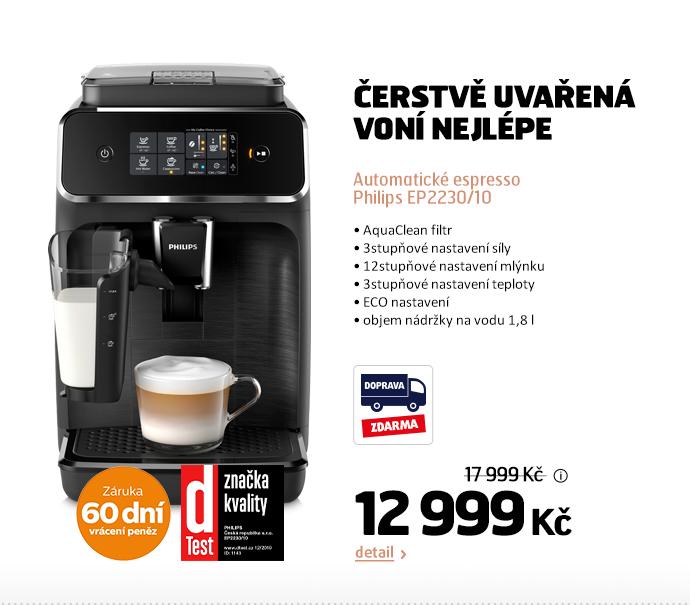 Automatické espresso Philips EP2230/10