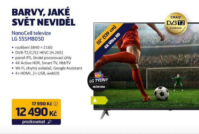 Nanocell televize LG 55SM8050