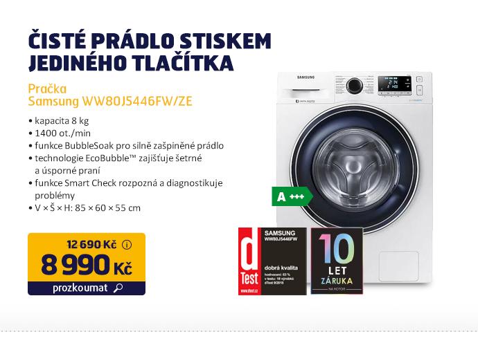 Pračka Samsung WW80J5446FW/ZE