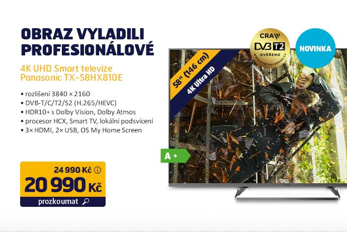 4K UHD Smart televize Panasonic TX-58HX810E
