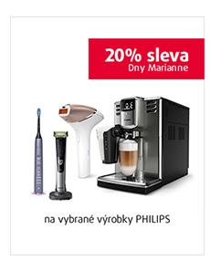 20% sleva na vybrané výrobky PHILIPS