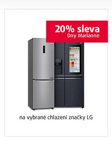 20% sleva na vybrané chlazení značky LG