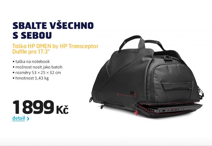 """Taška HP OMEN by HP Transceptor Duffle pro 17.3"""""""