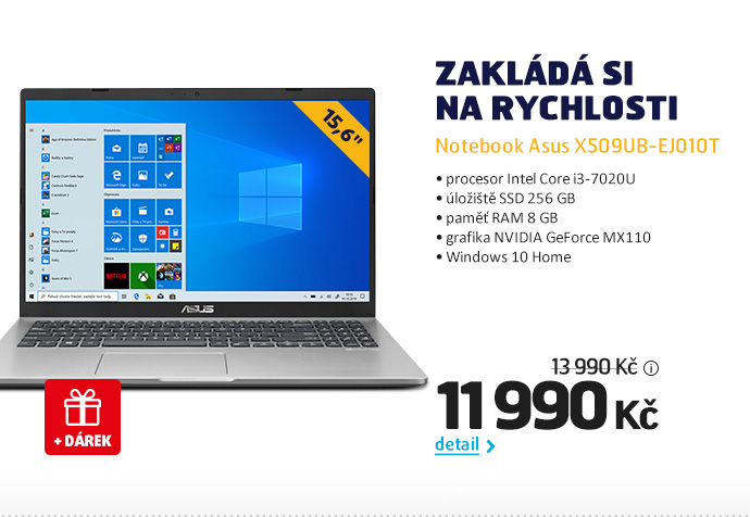 Notebook Asus X509UB-EJ010T