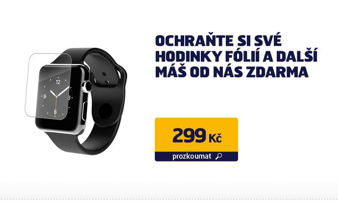 Ochraň si své hodinky fólií a další máš od nás zdarma