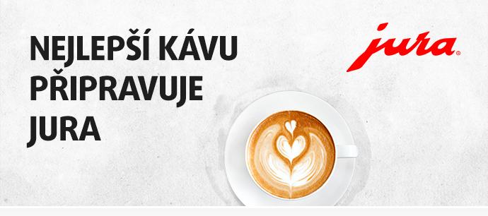 Nejlepší kávu připravuje JURA