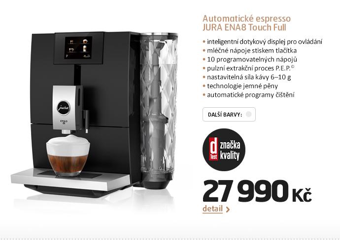 Automatické espresso JURA ENA8 Touch Full