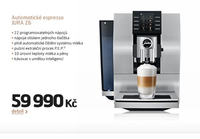Automatické espresso JURA Z6