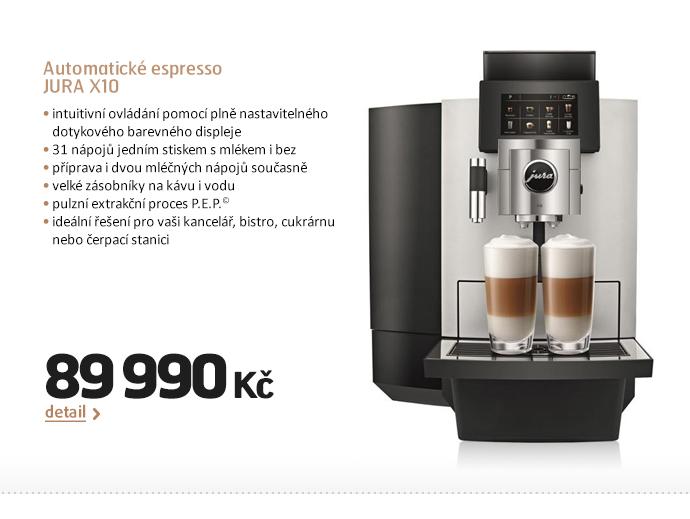 Automatické espresso JURA X10