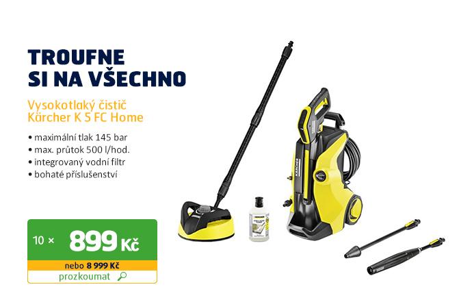 Vysokotlaký čistič Kärcher K 5 FC Home (1.324-503.0)