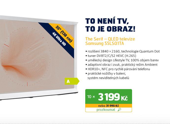 The Serif – QLED Samsung televize 55LS01TA