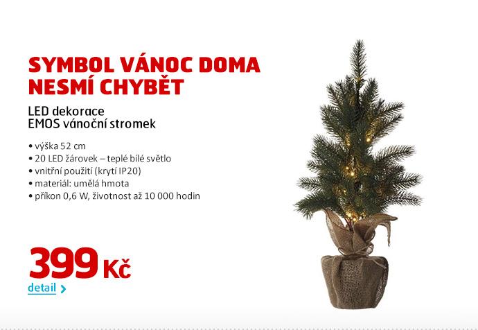 LED dekorace EMOS vánoční stromek
