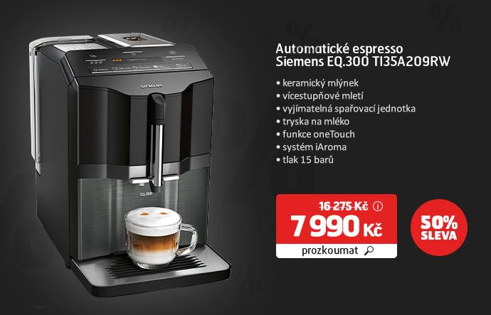 Automatické espresso Siemens EQ.300 TI35A209RW
