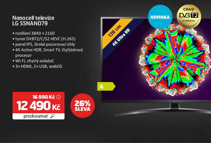 Nanocell televize LG 55NANO79