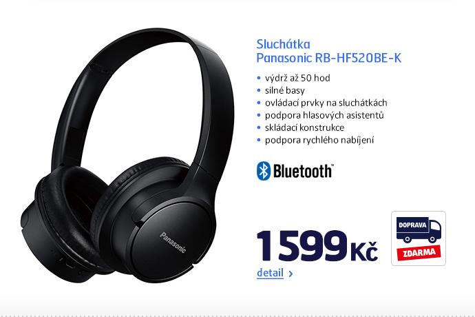 Sluchátka Panasonic RB-HF520BE-K