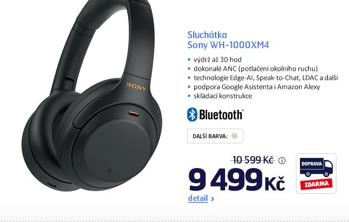 Sluchátka Sony WH-1000XM4