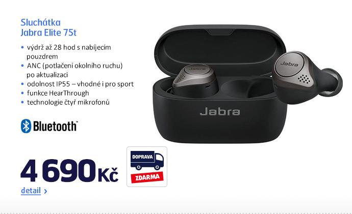 Sluchátka Jabra Elite 75t