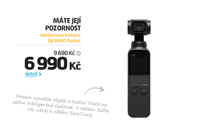Outdoorová kamera DJI OSMO Pocket