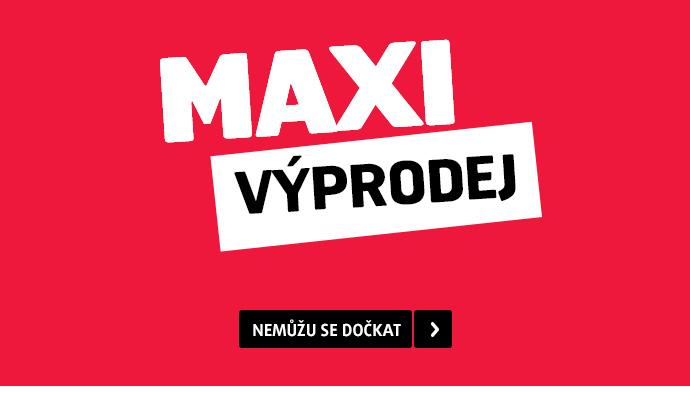 Maxi výprodej prodlužujeme
