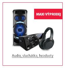 Audio, sluchátka, headsety