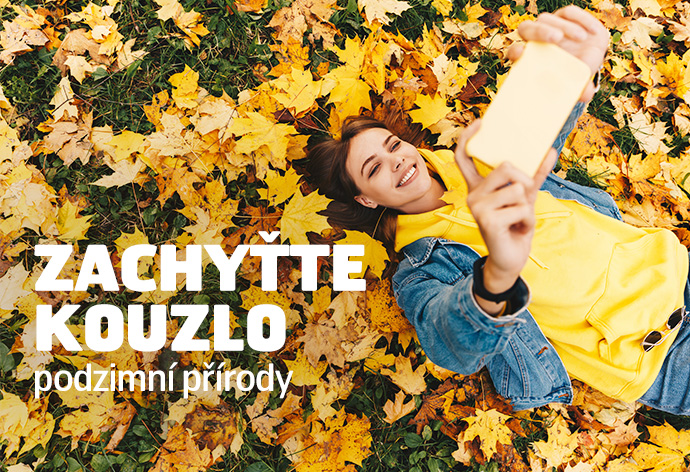 Zachyťte kouzlo podzimní přírody