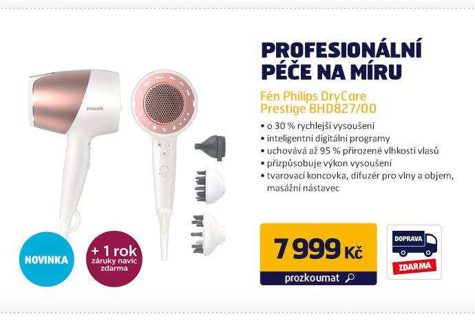 Fén Philips DryCare Prestige BHD827/00