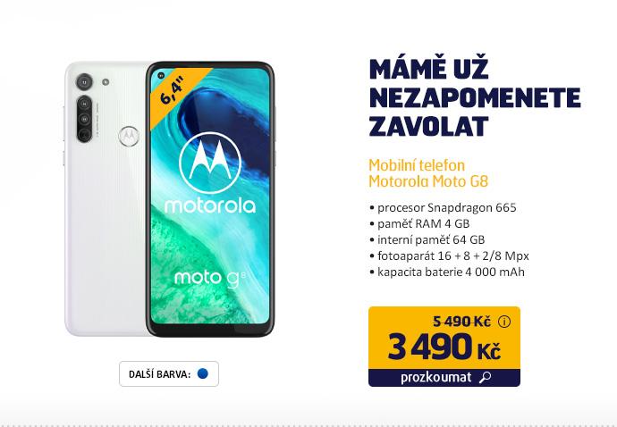 Mobilní telefon Motorola Moto G8