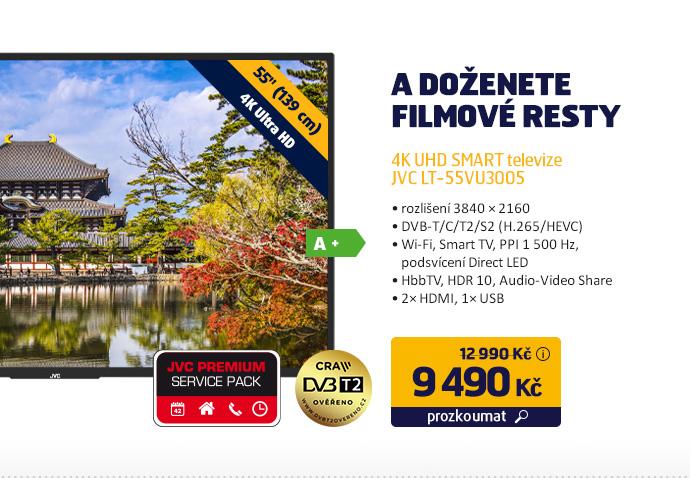 4K UHD SMART Televizor JVC LT-55VU3005