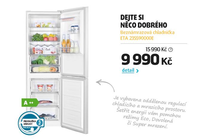 Beznámrazová chladnička ETA 235590000E